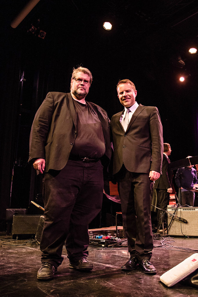 Petri Nieminen ja Antti Rissanen yhteiskuvassa kilpailun ratkettua.